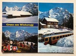 Mürren Gruss Aus Winteregg - BE Bern