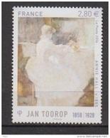 2016-N°5033**  J.TOOROP - Ungebraucht