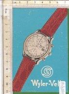PO8180D# CALENDARIETTO PUBBLICITA' OROLOGI WYLER-VETTA 1993 - Calendari