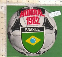 PO8201D# ADESIVO STICKERS CALCIO MUNDIAL 1982 - BRASILE GADGET MILKANA - MONDIALI - Calcio