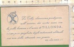 PO8220D# BIGLIETTO CARTONCINO BAMBOLA TILLY MINI FURGA - Bambole