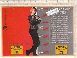 PO8257D# STEAKERS ADESIVO GIANNA NANNINI TOUR '88 - CONCERTI MUSICA - Altri