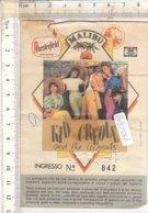 PO8258D# BIGLIETTO CONCERTO KID CREOLE AND THE COCONUTS - Concert Tickets
