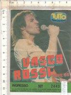 PO8268D# BIGLIETTO CONCERTO VASCO ROSSI TOUR '85 - Concert Tickets