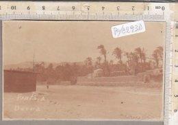 PO8285D# FOTOGRAFICA LIBIA - DERNA - FONTE A. 1911  No VG - Libia