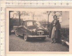 PO8306D# FOTOGRAFIA AUTOMOBILI FIAT 1400 - OLD CARS - Coches