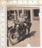 PO8314D# FOTOGRAFIA MOTOCICLISMO - MOTO GUZZI ? BAMBINI - Sport