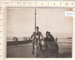 PO8315D# FOTOGRAFIA MOTOCICLISMO - MOTO SIDECAR RICORDO 1922 - Sport