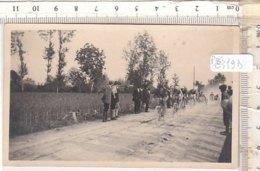 PO8319D# FOTOGRAFIA CICLISMO - PASSAGGIO CICLISTI E SIDECAR - Ciclismo