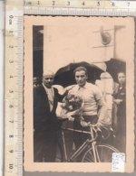 PO8320D# FOTOGRAFIA CICLISMO - I COPPA PESCAROLO 1948 - 1° VOTTERO - Ciclismo