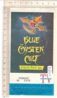 PO8353D# BIGLIETTO CONCERTO BLU GYSTER CULT ITALIAN TOUR '86 - Concert Tickets