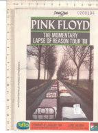 PO8360D# BIGLIETTO CONCERTO PINK FLOYD THE MOMENTARY LAPSE OF REASON - TORINO 1988 - Biglietti Per Concerti