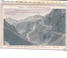 PO8561D# CALENDARIO 1906 CORDIAL BITTER MONTE SPLUGA-APERITIVO MELANGE BIFFI-DISTILLERIA LIQUORI OGNA RADAELLI - Formato Piccolo : 1901-20