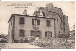 ETABLISSEMENT DES PUPILLES DE LA MARINE. ENTREE PRINCIPALE - Brest