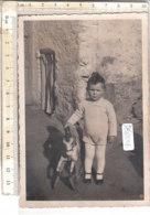 PO8622D# FOTOGRAFICA BAMBINI - CAVALLO A DONDOLO - ROCKING HORSE TOYS  No VG - Ritratti