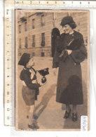 PO8630D# FOTOGRAFICA BAMBINI BALILLA CON UOVO DI PASQUA RICORDO TORINO 1936  No VG - Scene & Paesaggi