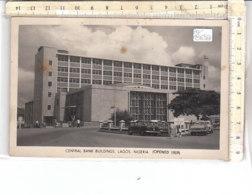 PO8696D# AFRICA - NIGERIA - LAGOS - CENTRAL BANK BUILDINGS  VG 1966 - Nigeria