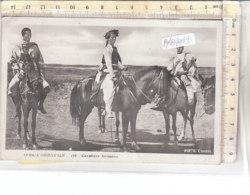 PO8704D# AFRICA ORIENTALE - COLONIE - ERITREA - CAVALIERE ABISSINO - FOTOGRAFO COMINI  VG 1936 - Eritrea