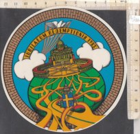 PO8840D# ADESIVO STICKER IUBILAEUM REDEMPTIONIS 1983 - GIUBILEO - VATICANO - STEMMA PAPALE - Adesivi