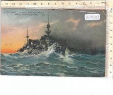 PO8896D# NAVI DA GUERRA CORAZZATE - LE CUIRASSE PATRIE PAR DUMONT-DUPARC   VG 1915 - Guerra