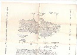 PO8929D# CARTA SEGNAVIA - DALL'ARP AL COL DE LA SEIGNE PASSEGGIATA DELLE ALPI - Other