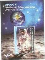 Uruguay 2019 ** HB APOLO XI. 50 Años Del Primer Alunizaje (20 De Julio De 1969) - Espacio