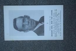 Doodsprentje Broeder Emiel Rene Van Loocke. °Mariakerke, +Gent. - Décès