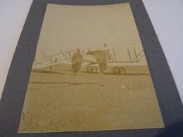 Photo 1915 PAU - Camp D'aviation Du Pont Long ??, Un Avion Biplan Caudron Au Départ (A198, Ww1, Wk 1) - Pau