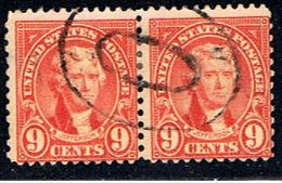 US 408 // YVERT 236 B + 236 B (DENT. 11X10 1/2) // 1922-25 - United States