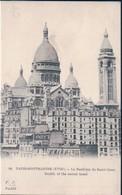 POSTAL PARIS MONTMARTRE - LA BASILIQUE DU SACRE COEUR - E F PARIS 98 - FRANCIA - Iglesias