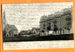 SPR670, Bern, Johanneskirche, Spitalacker, Précurseur, Circulée 1904 - BE Berne