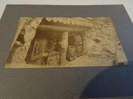 Photo Mars 1915 LES EPARGES - Tranchée De Calonne, Abri Contenant Des Caisses De Poudre (A198, Ww1, Wk 1) - War 1914-18