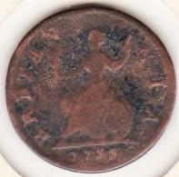 Grande Bretagne. 1 Farthing 1735 , George II - 1662-1816 : Acuñaciones Antiguas Fin XVII° - Inicio XIX° S.