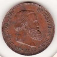 Brésil 10 Reis 1869 Pedro II - Brasil