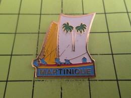 611a Pin's Pins / Beau Et Rare : THEME : BATEAUX / VOILIER VOILE PECHE MARTINIQUE - Bateaux