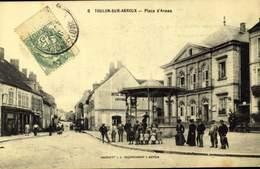 71 TOULON SUR ARROUX / La Place D'Armes / A 496 - Francia
