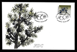 FINLAND 2002 Definitive/Juniper: First Day Cover CANCELLED - FDC