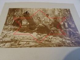 Photo Juillet 1915 LES EPARGES - Tranchée De Calonne, Carrefour Des Trois Jurés, Obusier De 220, Canon (A198, Ww1, Wk 1) - Guerra 1914-18