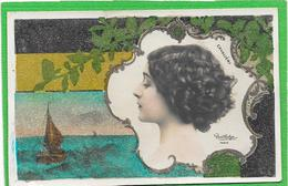 "CAVALIERI Carte ""Perlée"" Photo REUTLINGER - Artistes"