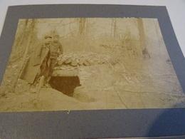 Photo Avril 1915 LES EPARGES - Carrefour Des Trois Jurés, Abris Des Artilleurs (A198, Ww1, Wk 1) - Autres Communes