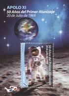 1682 URUGUAY 2019-50a. Del 1º Alunizaje TT: Espacio,Estrellas,Lentes,Planetas - Uruguay