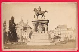 LIEGE - STATUE DE CHARLEMAGNE  - BELGIQUE - Foto