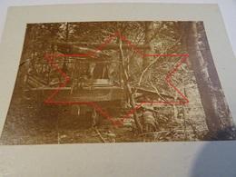 Photo Juillet 1915 LES EPARGES - Tranchée De Calonne, Carrefour Des Trois Jurés, Canon De 120 Sur Affût (A198, Ww1) - War 1914-18