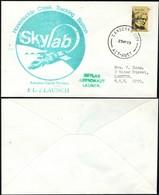 Australia - Space Cover, Skylab 2 Launch – Honeysuckle Creek, CANBERRA 25 May 1973. - 1966-79 Elizabeth II