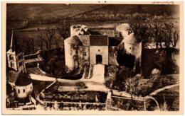 21 MONT SAINT-JEAN - Le Chateau Et L'église - Autres Communes