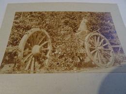 Photo Juillet 1915 LES EPARGES - Tranchée De Calonne, Carrefour Des Trois Jurés, Obusier De 220 (A198, Ww1, Wk 1) - Guerra 1914-18