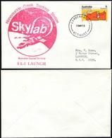 Australia - Space Cover, Skylab 1 Launch – Honeysuckle Creek, CANBERRA 15 May 1973. - 1966-79 Elizabeth II