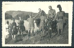 A.O.I ETIOPIA  LAGHETTO DI MAI AMBERA' UFFICIALI E ASCARI XI BTG  ERITREO - War, Military