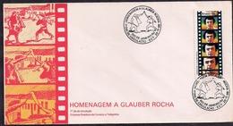 Brasil - FDC - 1986 - Tribute To Glauber Rocha - Réalisateur Brésilien - Cinema