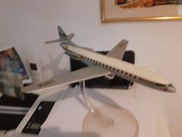 Caravelle Sur Support D'origine Air France - Vliegtuigen